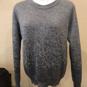 H&M Sweater Gray & Silver